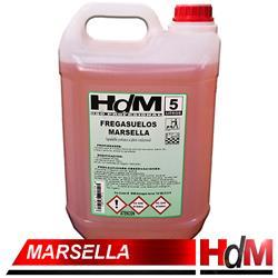 FREGASUELOS JABON MARSELLA  5LT HDM caja 4 botellas €/BOT