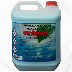 ABRILLANTADOR VINILOS PLASTICOS 5LT ORBIVAL caja 4 botellas €/BOT