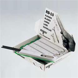 CUCHILLA RECAMBIO RASCADOR CRISTALERO 10cm.UNGERcj10pqx25s=250ud-€/UD